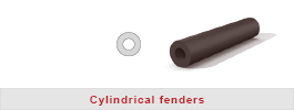 Cylindrical-fenders