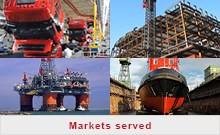 Markets served - marine rubber fendering