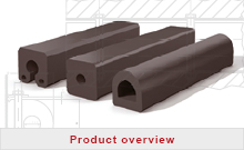 Product range rubber fenders