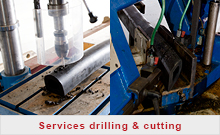 Services drilling & cutting