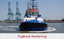 Tugboat fendering