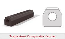 Trapezium composite fender