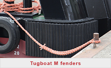 Tugboat M fenders
