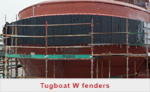 Tugboat W fenders