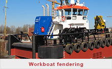 Workboat fendering - FenderTec
