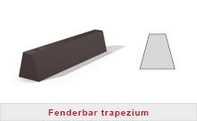 Fenderbar trapezium