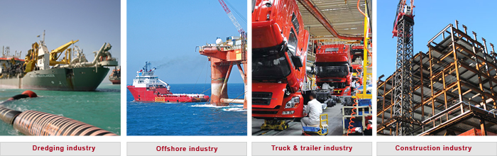 Marine fendering worldwide shipping