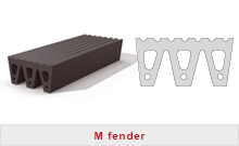 M fenders rubber