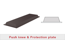 Push knee & Protection plates