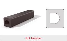 Fyrkants fendrar - SD fender