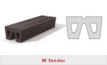 W fenders rubber