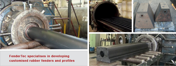 Custom made rubber fenders - Bespoke products