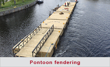 Pontoon fendering