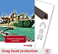Drag head protection