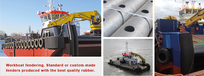 Workboat  rubber fenders