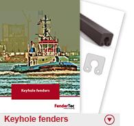 Keyhole fenders