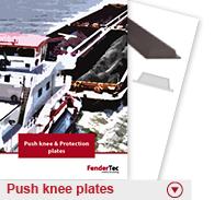 Push knee plates
