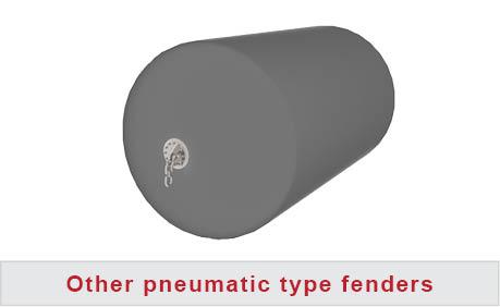 Pneumatic fender sling