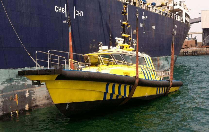markten crewtender en loodsboot categorie