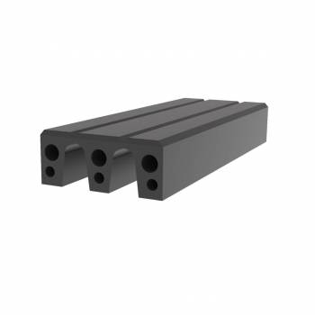Fendertec marine fendering - Rubber Composite M-fender blocks with UHMWPE Top layer