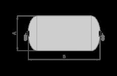 Pneumatic Sling size standard