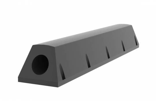Fendertec marine fendering - Tugboat rubber fenders  - Trapezium with steel insert